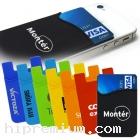 ซองซิลิโคนติดโทรศัพท์มือถือ<br>Silicone Card Pocket for Mobile phone