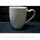 แก้วมักหูหัวใจ แก้วกาแฟเซรามิกมัค