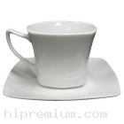 ชุดแก้วกาแฟพร้อมจานรองแก้ว<br>สั่งขั้นต่ำ100ชุด
