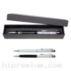 ชุดกล่องของขวัญปากกาคริสตัลเทียมพร้อมTouch Screenใช้สัมผัสหน้าจอ<br>ปากกางานด่วนสต๊อกขั้นต่ำ100ชุด