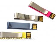 Mini Slim Flash Drive โลหะ แฟลชไดร์ฟคลิปหลากสี