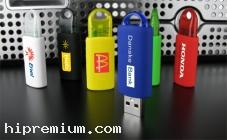 USB Flash Drive แฟลชไดร์ฟพลาสติกไม่มีฝาปิด