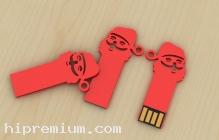 Santa USB Flash Drive แฟลชไดร์ฟซานตาครอส,แฟลชไดรฟ์ซานต้า
