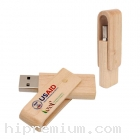 Wooden USB Flash Drive แฟลชไดร์ฟไม้จริง-FD689