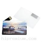 Credit Card USB Flash Drive แฟลชไดร์ฟการ์ดใสสี่เหลี่ยมโปร่งแสง<br>เครดิตการ์ดแฟลชไดร์ฟสี่เหลี่ยมใส