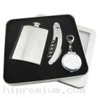 ชุดกล่องของขวัญกิ๊ฟเซ็ท Gift Set<br>ขวดใส่เครื่องดื่ม,พวงกุญแจที่เขี่ยบุหรี่,ที่เปิดขวด<br>สั่งขั้นต่ำ 500 ชุด