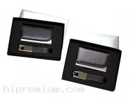ชุดกล่องของขวัญกิ๊ฟเซ็ท Gift Set<br>กล่องใส่นามบัตรและพวงกุญแจหนัง<br>สั่งขั้นต่ำ 100 ชุด