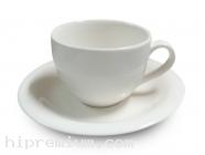 แก้วมักพร้อมจานรองแก้ว ชุดแก้วกาแฟเซรามิกมัค<br>ขั้นต่ำ200ชุด