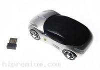 เมาส์แฟนซีไร้สายรูปทรงรถยนต์<br>2.4Ghz USB Wireless Mouse<br>สั่งขั้นต่ำ100ชิ้น