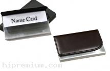 กล่องตลับใส่นามบัตรหนังเทียม