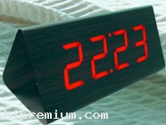 นาฬิกาตั้งโต๊ะดิจิตอล<br /> นาฬิกาไม้ พรีเมี่ยม