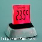 นาฬิกาตั้งโต๊ะดิจิตอล ไฟพื้นหลังเปลี่ยนได้7สี