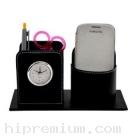 นาฬิกาตั้งโต๊ะ พร้อมช่องใส่ของอเนกประสงค์<br>นาฬิกาสต๊อกสั่งขั้นต่ำ100ชิ้น