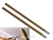 ดินสอไม้หกเหลี่ยมมียางลบ เลือกสีได้<br>สั่งขั้นต่ำ500แท่ง