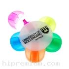 ปากกาไฮไลท์5สี ปากกาเน้นข้อความรูปดอกไม้<br>สั่งขั้นต่ำ100ชิ้น