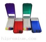 กล่องชุดเซ็ตปากกาไฮไลท์5ด้าม ปากกาเน้นข้อความ5สี<br>สั่งขั้นต่ำ100ชุด