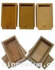 กล่องไม้สำหรับบรรจุ Flash Drive