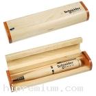 กล่องไม้สำหรับบรรจุ Flash Drive ปากกา