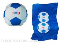 หมอนผ้าห่มทรงกลม หมอนฟุตบอล