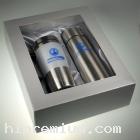 ชุดแก้วเก็บอุณหภูมิพร้อมบรรจุกล่องของขวัญ(ฝาโปร่ง) <br>กระบอกน้ำแสตนเลสสั่งขั้นต่ำ100ชุด