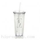 แก้วอะคริลิกพร้อมหลอดดูด<br>แก้วน้ำใหญ่สั่งขั้นต่ำ100ใบ