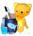 กล่องใส่ปากกาตุ๊กตาแมวเหมียว