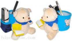 กล่องใส่ปากกาตุ๊กตาหมี