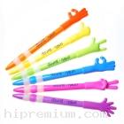 ปากกามือ,ปากกานิ้วมือ, ปากกานิ้วแบบกด