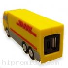 พาวเวอร์แบงค์รถขนส่งDHLขึ้นรูปใหม่<br>หรือทรงอื่นๆตามสั่งแบตสำรองสั่งทำ