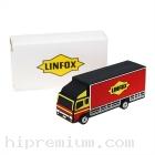 Customer พาวเวอร์แบงค์รถขนส่ง LINFOX ขึ้นรูปใหม่<br>หรือทรงอื่นๆตามสั่งแบตสำรองสั่งทำ