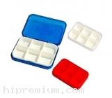 กล่องใส่ยาพกพา กล่องยา ตลับใส่ยา 6 ช่อง