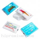กระดาษทิชชู่พรีเมี่ยม กระดาษทิชชู่สั่งพิมพ์ลายตามสั่ง<br>Pocket Pack เจาะด้านหน้า